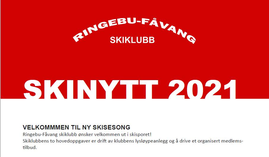 Skinytt 2021